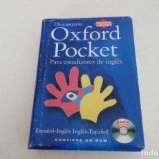 Diccionarios de segunda mano: DICCIONARIO OXFORD POCKET. ESPAÑOL -INGLÉS. Lote 167466860