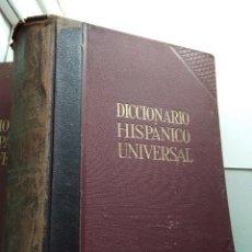 Diccionarios de segunda mano: DICCIONARIO HISPÁNICO UNIVERSAL - DOS TOMOS. Lote 167961712