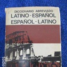 Diccionarios de segunda mano: DICCIONARIO ABREVIADO LATINO-ESPAÑOL. BIBLOGRAF. . Lote 167990440