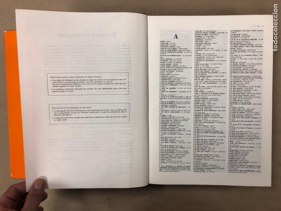 Diccionarios de segunda mano: NUEVO DICCIONARIO POLITÉCNICO DE LAS LENGUAS ESPAÑOLA E INGLESA (2 TOMOS). FEDERICO BEIGBEDER ATIENZ - Foto 14 - 168034270