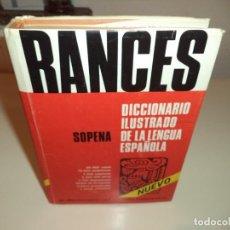 Diccionarios de segunda mano: RANCÉS, DICCIONARIO ILUSTRADO DE LA LENGUA ESPAÑOLA.AÑO 1982. Lote 168187704