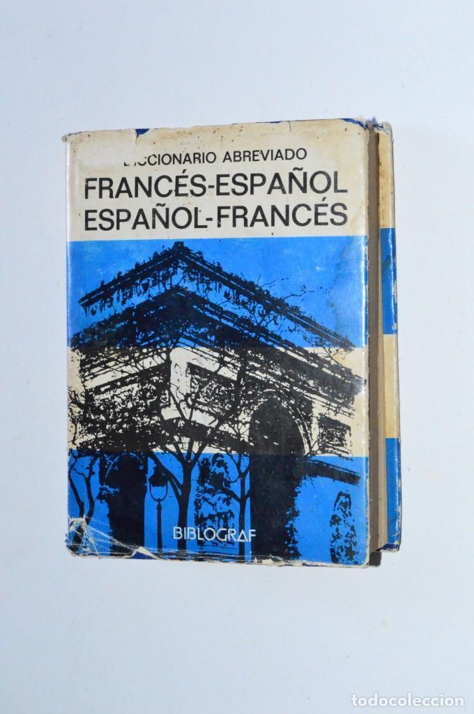 LIBRO DICCIONARIO ABREVIADO FRANCÉS-ESPAÑOL ESPAÑOL-FRANCÉS VOX BIBLOGRAF 1981 PEQUEÑO DE BOLSILLO (Libros de Segunda Mano - Diccionarios)