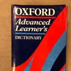 Diccionarios de segunda mano: OXFORD ADVANCED LEARNER'S DICTIONARY. OXFORD UNIVERSITY PRESS (1992).. Lote 168859717