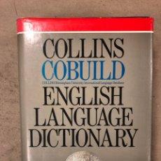 Diccionarios de segunda mano: COLLINS COBUILD ENGLISH LANGUAGE DICTIONARY. ED. HARPER COLLINS 1991.. Lote 168913226
