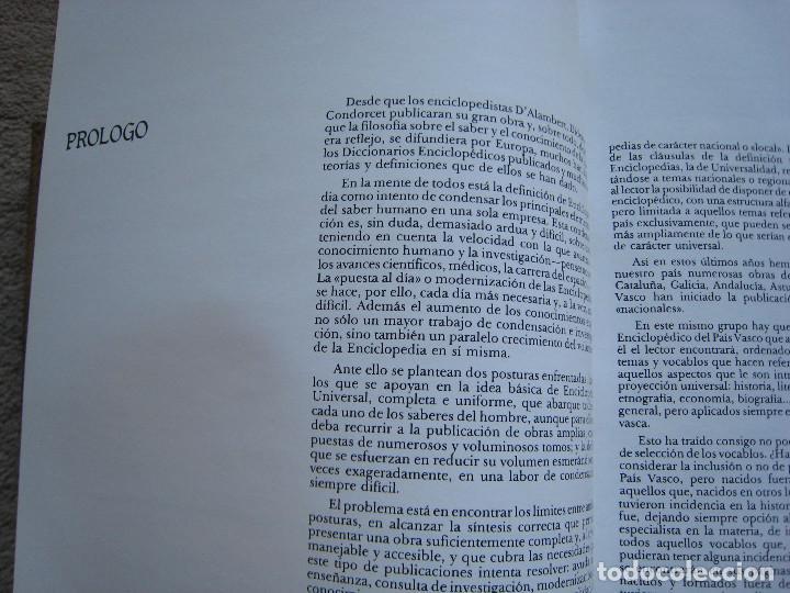 Diccionarios de segunda mano: DICCIONARIO ENCICLOPEDICO DEL PAIS VASCO-10 Tomos - Foto 7 - 168952588