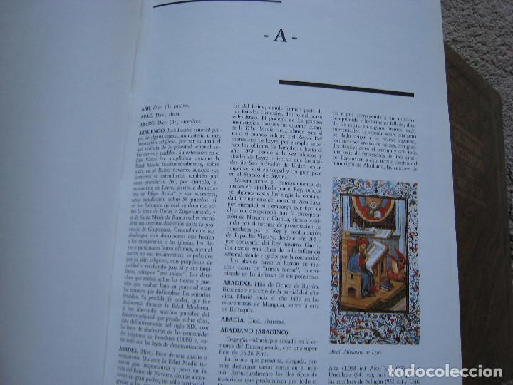 Diccionarios de segunda mano: DICCIONARIO ENCICLOPEDICO DEL PAIS VASCO-10 Tomos - Foto 9 - 168952588