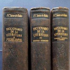 Diccionarios de segunda mano: OBRAS DE CONSULTA, ENSAYO DE UN DICCIONARIO DE LA LITERATURA, AGUILAR. Lote 169004164