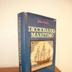 Diccionarios de segunda mano: JULIÁN AMICH: DICCIONARIO MARÍTIMO (JUVENTUD, 1983) ED. REVISADA. MUY BUEN ESTADO. TAPA DURA.. Lote 169033384