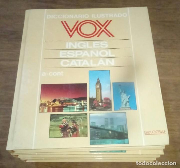 DICCIONARIO VOX SEIS TOMOS , INGLES ESPAÑOL Y CATALÁN (Libros de Segunda Mano - Diccionarios)