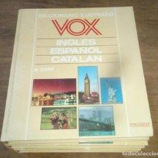 Diccionarios de segunda mano: DICCIONARIO VOX SEIS TOMOS , INGLES ESPAÑOL Y CATALÁN. Lote 169321124