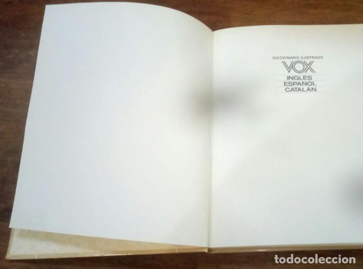 Diccionarios de segunda mano: DICCIONARIO VOX SEIS TOMOS , INGLES ESPAÑOL Y CATALÁN - Foto 3 - 169321124