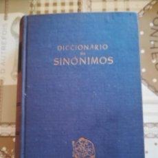 Diccionarios de segunda mano: DICCIONARIO DE SINÓNIMOS - 1944. Lote 169339188