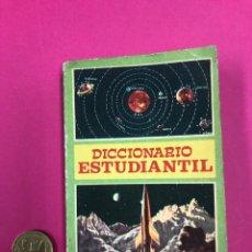 Diccionarios de segunda mano: DICCIONARIO ESTUDIANTIL - EDITORIAL VASCO AMERICANA 1965. Lote 169451077