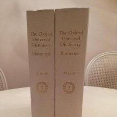 Diccionarios de segunda mano: THE OXFORD UNIVERSAL DICTIONARY ILUSTRATED 1976. Lote 169823164