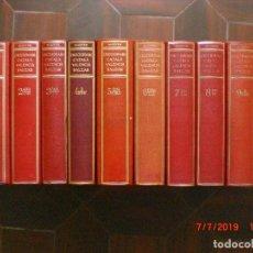 Diccionarios de segunda mano: DICCIONARI CATALÀ VALENCIÀ BALEAR, ANTONI Mª ALCOVER. 10 TOMOS. 1ª EDICIÓN. 1951-1968. (MENORCA.1.5). Lote 170545380