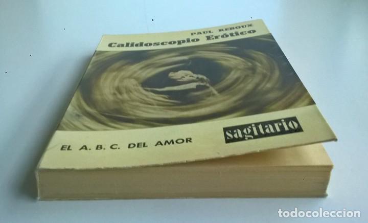 Diccionarios de segunda mano: CALIDOSCOPIO ERÓTICO.EL ABC DEL AMOR,DE PAUL REBOUX - 1ª EDICIÓN:1970 (1 A 2000 EJEMPLARES) - Foto 8 - 171072572