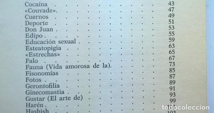Diccionarios de segunda mano: CALIDOSCOPIO ERÓTICO.EL ABC DEL AMOR,DE PAUL REBOUX - 1ª EDICIÓN:1970 (1 A 2000 EJEMPLARES) - Foto 13 - 171072572
