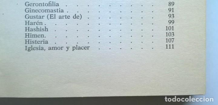 Diccionarios de segunda mano: CALIDOSCOPIO ERÓTICO.EL ABC DEL AMOR,DE PAUL REBOUX - 1ª EDICIÓN:1970 (1 A 2000 EJEMPLARES) - Foto 14 - 171072572