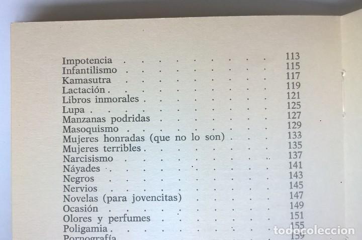 Diccionarios de segunda mano: CALIDOSCOPIO ERÓTICO.EL ABC DEL AMOR,DE PAUL REBOUX - 1ª EDICIÓN:1970 (1 A 2000 EJEMPLARES) - Foto 15 - 171072572