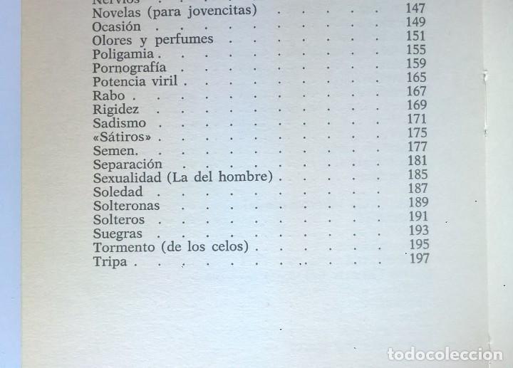Diccionarios de segunda mano: CALIDOSCOPIO ERÓTICO.EL ABC DEL AMOR,DE PAUL REBOUX - 1ª EDICIÓN:1970 (1 A 2000 EJEMPLARES) - Foto 16 - 171072572