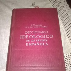 Diccionarios de segunda mano: 14-DICCIONARIO IDEOLOGICO DE LA LENGUA ESPAÑOLA, 1966. Lote 171230650