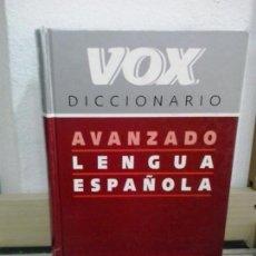 Livros em segunda mão: LMV - DICCIONARIO AVANZADO DE LENGUA ESPAÑOLA - VOX. Lote 191816113