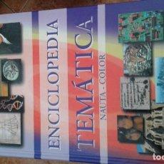Diccionarios de segunda mano: ENCICLOPEDIA TEMÁTICA NAUTA COLOR. Lote 171745790