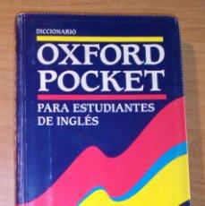 Diccionarios de segunda mano: DICCIONARIO OXFORD POCKET PARA ESTUDIANTES DE INGLÉS. Lote 171767408