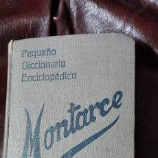 Diccionarios de segunda mano: DICCIONARIO MONTARCEP EDITORIAL PUEYO 1940. Lote 172231167