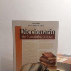 Livros em segunda mão: DICCIONARIO DE NARRATOLOGÍA. Lote 172478485