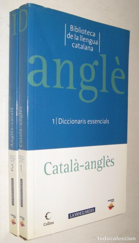 DICCIONARI CATALA-ANGLES ANGLES-CATALA - 2 TOMOS (Libros de Segunda Mano - Diccionarios)