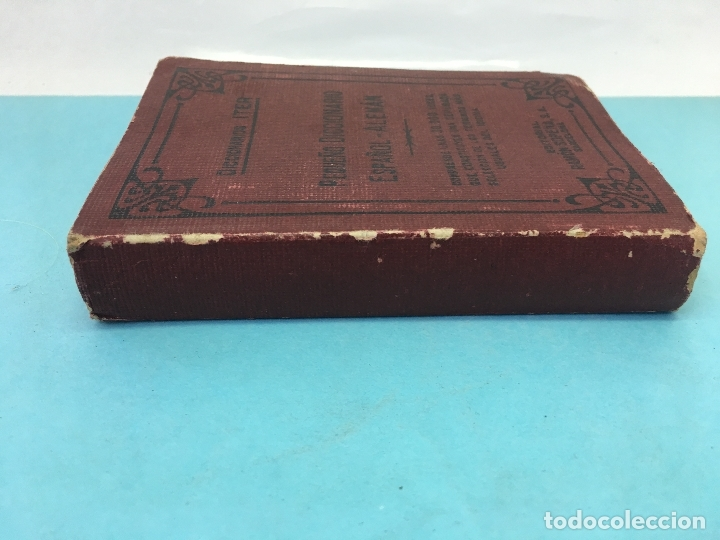 Diccionarios de segunda mano: PEQUEÑO DICCIONARIO ESPAÑOL - ALEMAN, DICIONARIO ITER, RAMON SOPENA S.A , 1947 - Foto 6 - 172648227