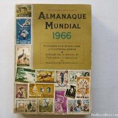 Diccionarios de segunda mano: ALMANAQUE MUNDIAL 1966 EDUARDO CARDENAS SELECCIONES DEL READER'S DIGEST MEXICO. Lote 172660460