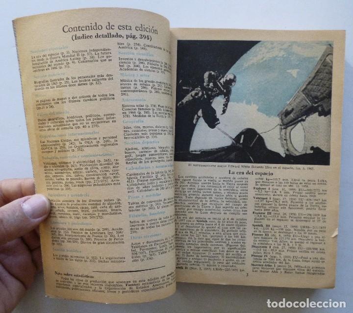 Diccionarios de segunda mano: ALMANAQUE MUNDIAL 1966 EDUARDO CARDENAS SELECCIONES DEL READER'S DIGEST MEXICO - Foto 8 - 172660460