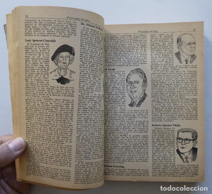Diccionarios de segunda mano: ALMANAQUE MUNDIAL 1966 EDUARDO CARDENAS SELECCIONES DEL READER'S DIGEST MEXICO - Foto 9 - 172660460