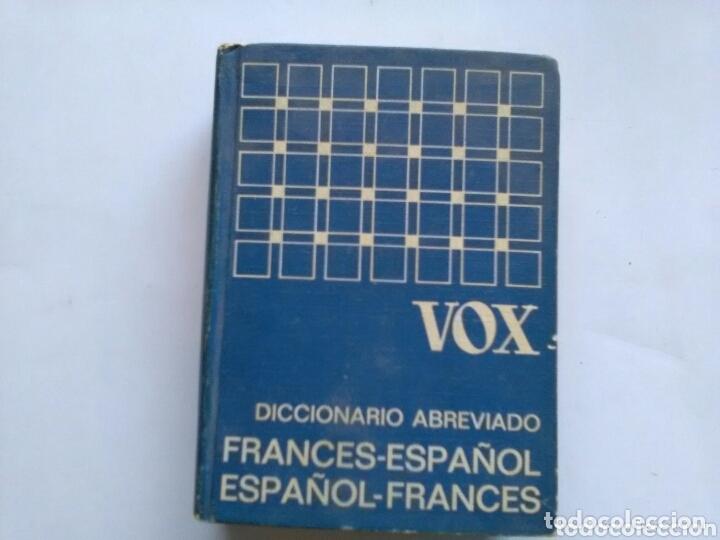 VOX .DICCIONARIO ABREVIADO . ESPAÑOL - FRANCES / FRANCES - ESPAÑOL . BIBLIOGRAF (Libros de Segunda Mano - Diccionarios)