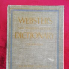 Diccionarios de segunda mano: WEBSTER'S NEW TWENTIETH CENTURY DICTIONARY OF THE ENGLISH LANGUAGE UNABRIDGED.. Lote 172694390
