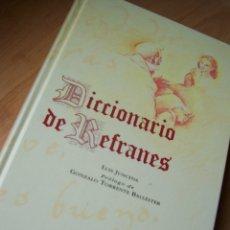 Diccionarios de segunda mano: DICCIONARIO DE REFRANES. LUIS JUNCEDA, PROLOGO DE TORRENTE BALLESTER. ESPASA CALPE. Lote 172924287