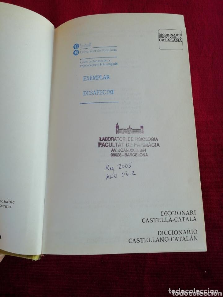 Diccionarios de segunda mano: Diccionari Castellà - Català. Diccionaris Enciclopedia Catalana. Año 1992 - Foto 3 - 173000302