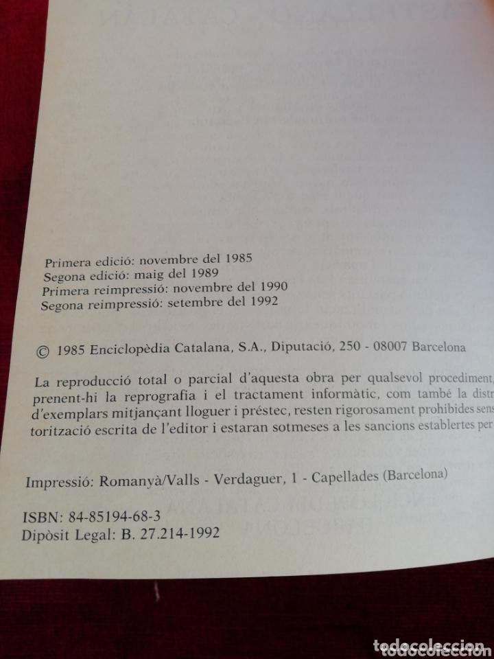 Diccionarios de segunda mano: Diccionari Castellà - Català. Diccionaris Enciclopedia Catalana. Año 1992 - Foto 4 - 173000302