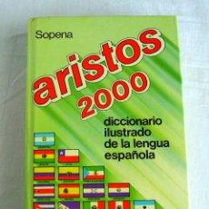 Diccionarios de segunda mano: DICCIONARIO ARISTOS 2000, AÑO 1990. Lote 173468968