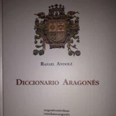 Livres d'occasion: DICCIONARIO ARAGONÉS ARAGONÉS - CASTELLANO / CASTELLANO - ARAGONÉS. Lote 173811074