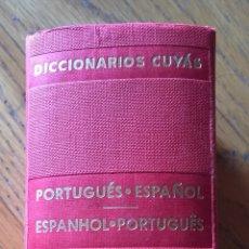 Diccionarios de segunda mano: DICCIONARIO PORTUGUES ESPAÑOL, ESPAÑOL PORTUGUES, CUYAS, HYMSA. Lote 173872839