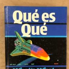 Diccionarios de segunda mano: QUÉ ES QUÉ - WHAT'S WHAT. ENCICLOPEDIA VISUAL BILINGÜE ESPAÑOL-INGLÉS. EDICIONES FOLIO 1988. Lote 174583134
