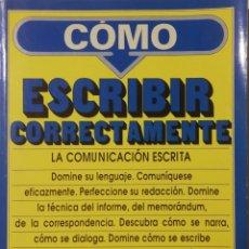 Diccionarios de segunda mano: GF TORRIENTE - COMO ESCRIBIR CORRECTAMENTE. Lote 174680955