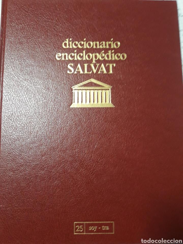 Diccionarios de segunda mano: DICCIONARIO ENCICLOPÉDICO SALVAT - Foto 2 - 174023133
