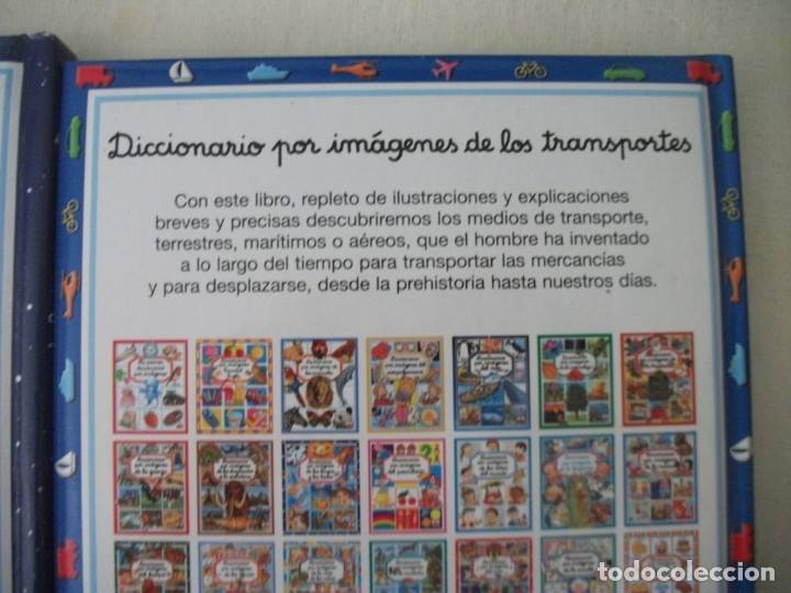 Diccionarios de segunda mano: LOTE DE 3 DICCIONARIOS POR IMÁGENES (DEL ESPACIO, DE LOS TRANSPORTES Y DEL CUERPO HUMANO) - Foto 3 - 175327825