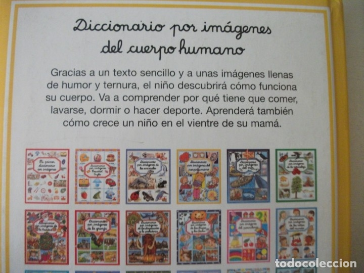 Diccionarios de segunda mano: LOTE DE 3 DICCIONARIOS POR IMÁGENES (DEL ESPACIO, DE LOS TRANSPORTES Y DEL CUERPO HUMANO) - Foto 4 - 175327825