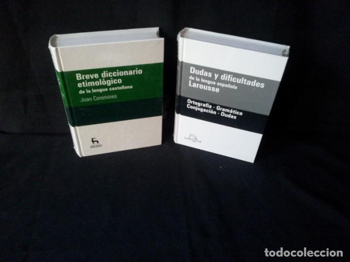 Diccionarios de segunda mano: GRANDES DICCIONARIOS - MARIA MOLINER, LAROUSSE, OXFORD UNIVERSITY PRESS, GREDOS Y JOAN COROMINES - Foto 4 - 175809173