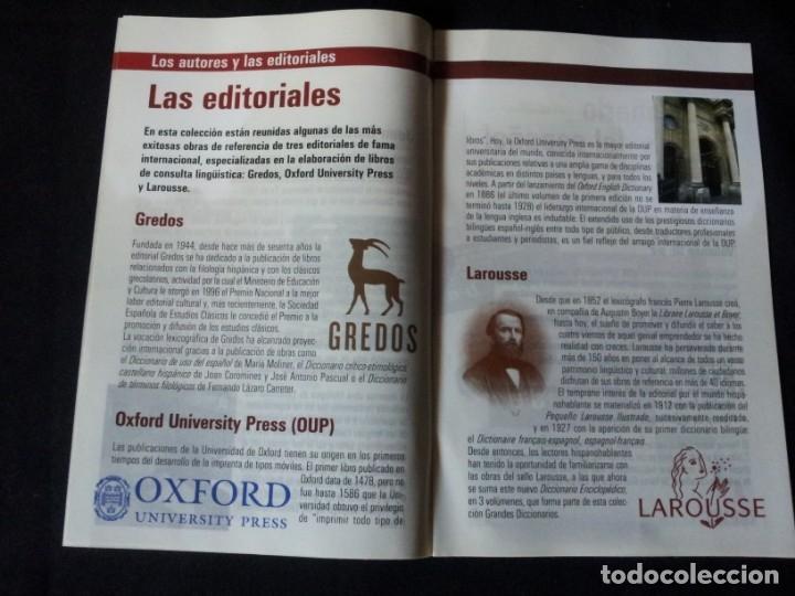 Diccionarios de segunda mano: GRANDES DICCIONARIOS - MARIA MOLINER, LAROUSSE, OXFORD UNIVERSITY PRESS, GREDOS Y JOAN COROMINES - Foto 12 - 175809173